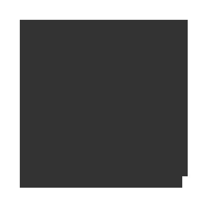 The sagittarius zodiac sign in black.
